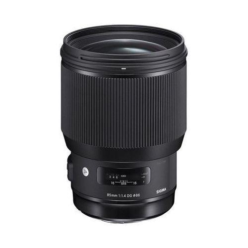 Sigma 85mm f/1.4 dg hsm art nikon - przyjmujemy używany sprzęt w rozliczeniu | raty 20 x 0%