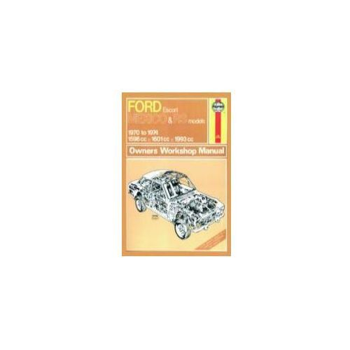 Ford Escort RS Mexico Owner's Workshop Manual (9780857336576)