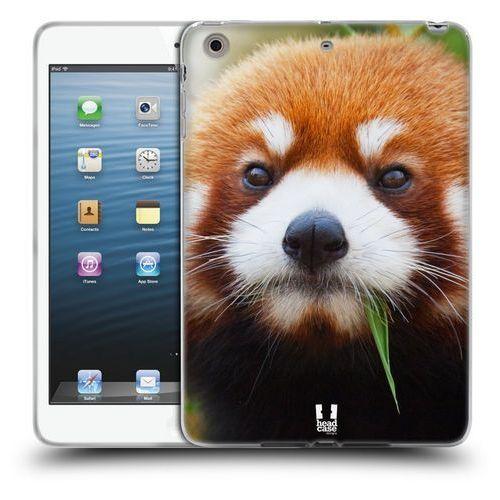 Etui silikonowe na tablet - Dzikie Zwierzęta Panda Czerwona, kolor czerwony