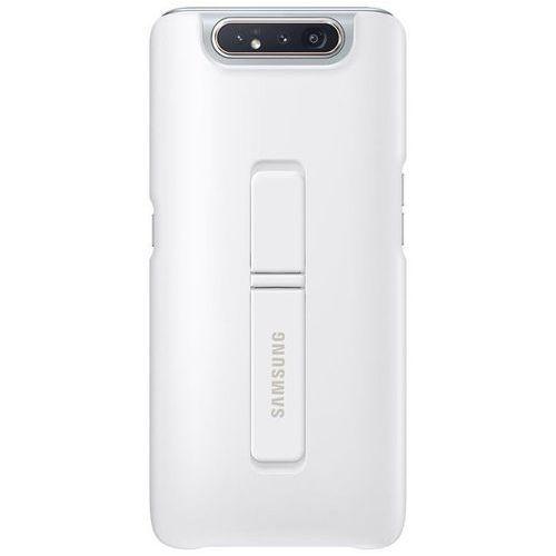 galaxy a80 standing cover ef-pa805cw (biały) marki Samsung