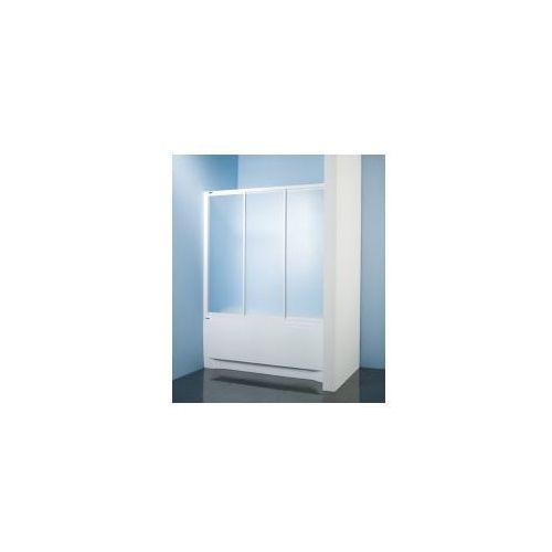SANPLAST kabina nawannowa Classic 150 wnękowa polistyren (parawan) DTr-c-W-150 600-013-2431-01-520, 600-013-2431-01-520