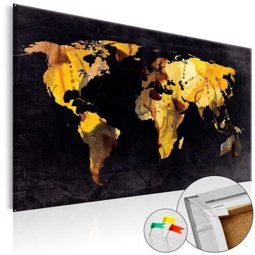 Obraz na korku - a gdyby świat był pustynią... [mapa korkowa] marki Artgeist