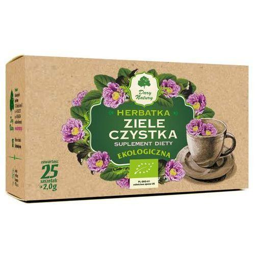 Dary natury - herbatki bio Herbatka ziele czystka bio (25 x 2 g) - dary natury
