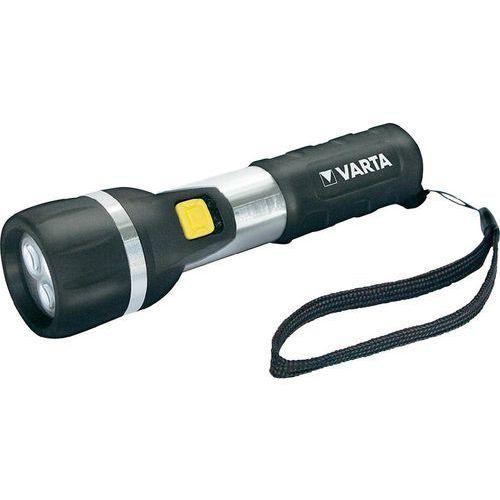 Latarka 16610101421, 25 lm, 42 m 65 h, baterie (Øxd) 44 mmx164 mm, czarny, srebrny marki Varta