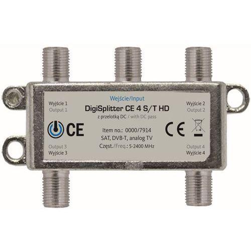 Rozdzielacz antenowy technisart ce 4 s/t hd + zamów z dostawą jutro! marki Technisat