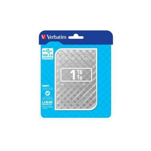 Verbatim Store'n'Go 1TB 2.5'' USB 3.0 Silver, DHVRBZBT10000S1 (1302298)