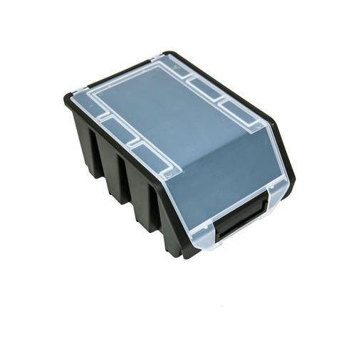 Pojemnik Magazynowy Warsztatowy Ergobox 3 czarny plus Patrol (5901238242895)