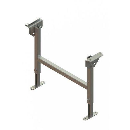Stojak podwójny, ocynkowany, szer. taśmy 400 mm, zakres regulacji 380 - 580 mm. marki Gura fördertechnik