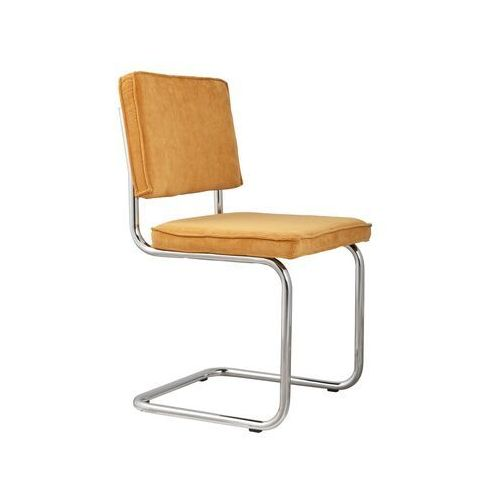 Zuiver krzesło ridge rib żółte 24a 1006010