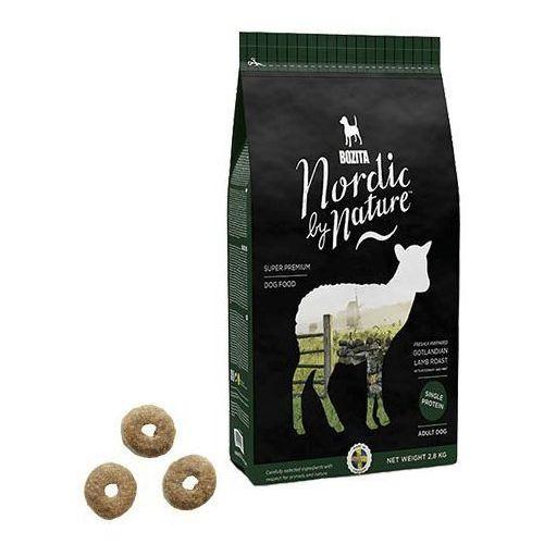 nordic by nature, jagnięcina z rozmarynem i miętą - karma dla psów wrażliwych małych i średnich ras, 850 g marki Bozita