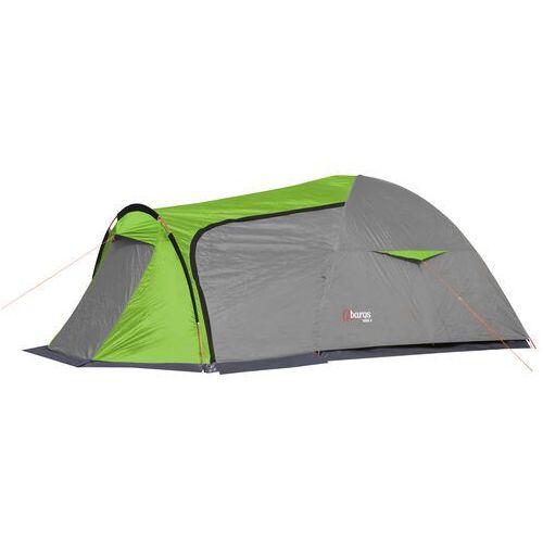 Namiot turystyczny vigo-3a szary - 3 osobowy 3000mm marki Abarqs