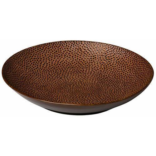 Talerz do pasty honeycomb brązowy | śr. 255 mm marki Fine dine