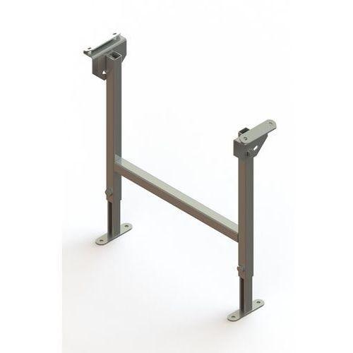 Gura fördertechnik Stojak podwójny, ocynkowany, szer. taśmy 400 mm, zakres regulacji 470 - 750 mm.