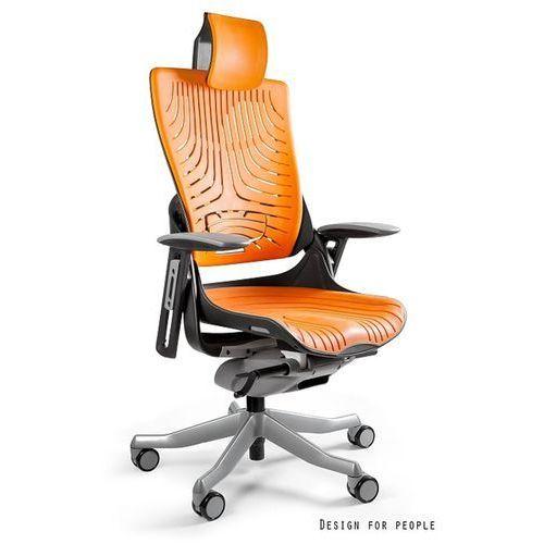 Fotel ergonomiczny czarny WAU 2 Elastomer - Mango- ZADZWOŃ 692 474 000 - OTRZYMASZ RABAT!