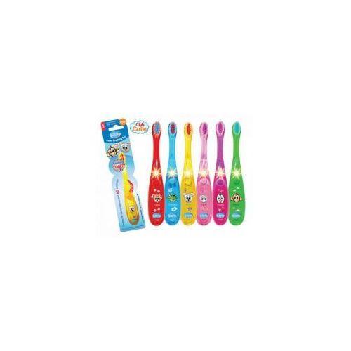Świecąca szczotka do zębów dla dzieci