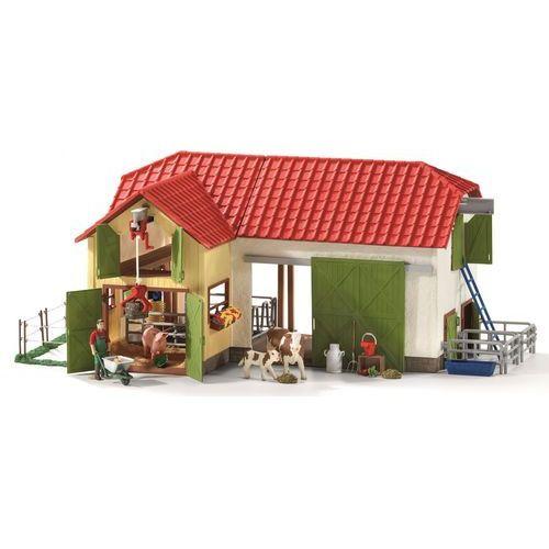 Schleich Duża farma ze zwierzętami + akcesoria (4055744005862)
