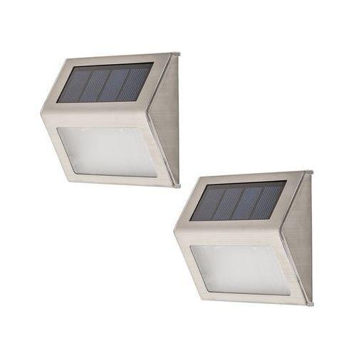 Rabalux 8784 - SET 2x LED Kinkiet zewnętrzny SANTIAGO 2xLED/0,12W