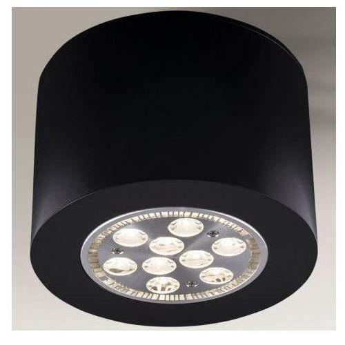 Shilo Lampa sufitowa tamba 1139 downlight oprawa metalowa czarna (5903689911399)