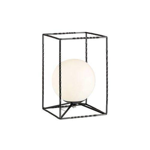 Markslojd Eve 107816 Lampa stołowa lampka 1x40W E14 czarny/biały (7330024586352)