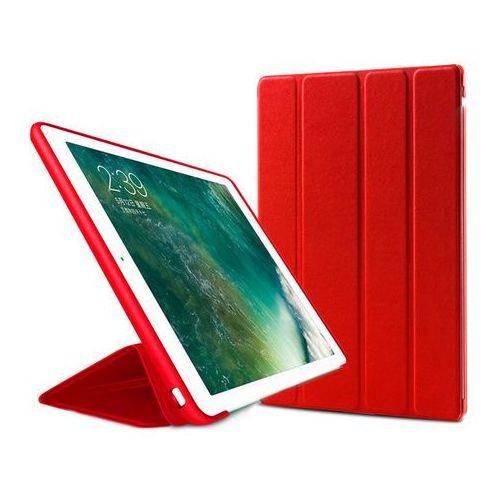 Etui Alogy Smart Case Apple iPad 2 3 4 silikon Czerwone + Szkło - Czerwony