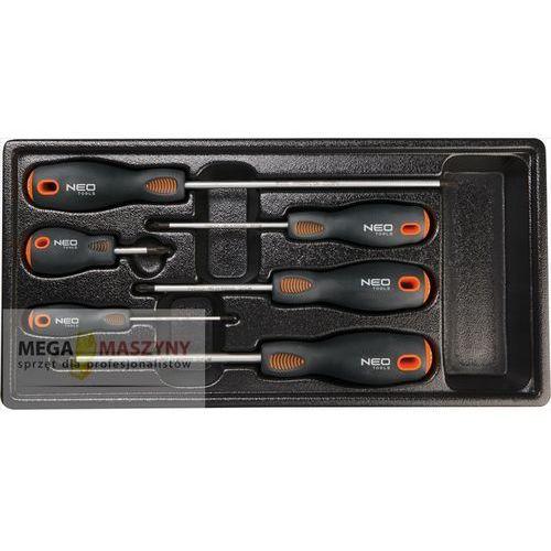 NEO TOOLS Zestaw wkrętaków krzyżowych PZ 84-263, towar z kategorii: Zestawy narzędzi ręcznych