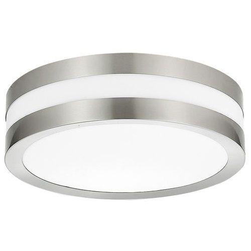 Plafon zewnętrzny lampa sufitowa stuttgart 2x11w e27 ip44 inox 8220 marki Rabalux