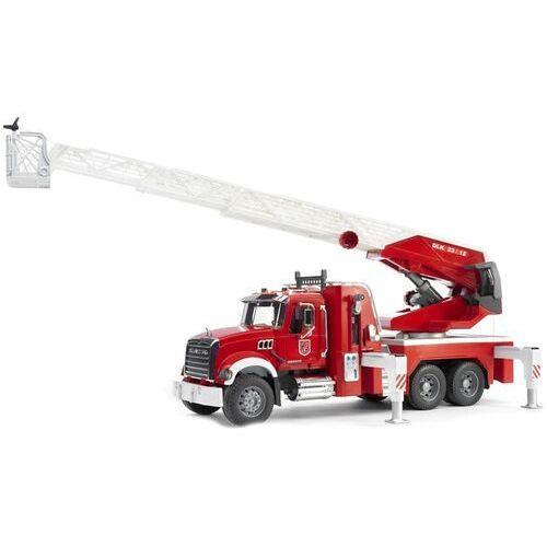 Pojazd mack granite straż pożarna z pompą wodną, BR02821