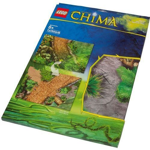 Lego 850899 mata chima (legends of chima playmat) - gadżety