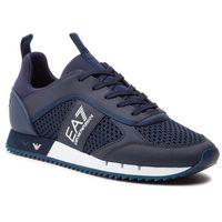 Sneakersy EA7 EMPORIO ARMANI - X8X027 XK050 D813 Navy/White