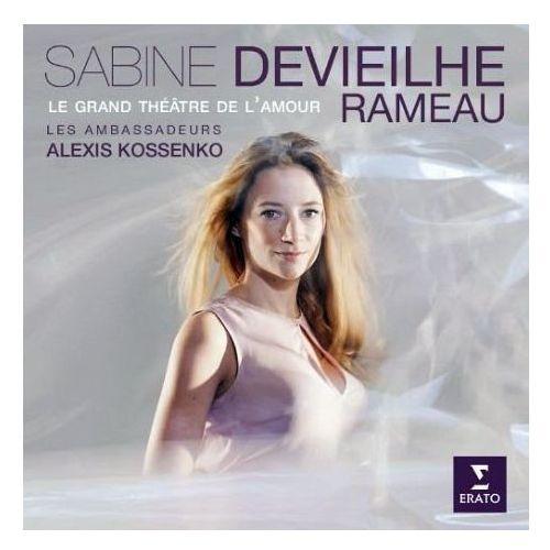 Warner music / erato Rameau - grand theathre de l'amore - devieilhe, sabine, samuel boden, aimery lefebvre, les ambassadeurs, alexis kossenko (płyta cd)