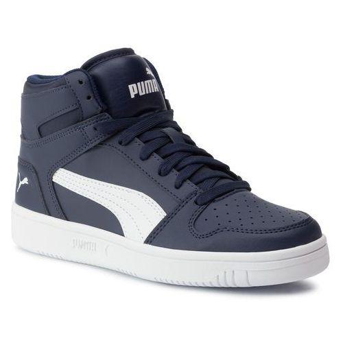 Puma Sneakersy - rebound layup sl jr 370486 04 peacoat/puma white