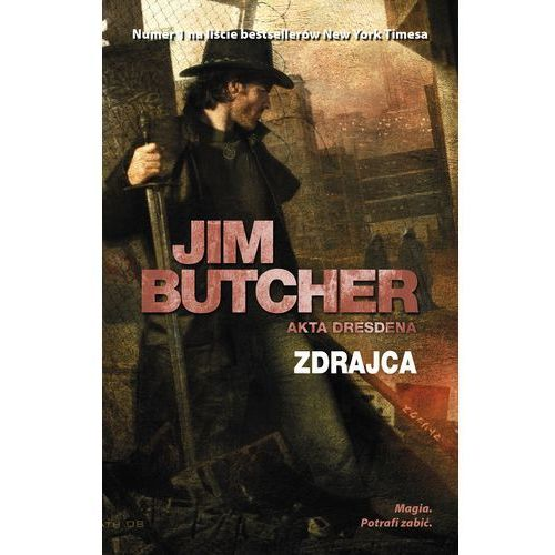 ZDRAJCA AKTA DRESDENA TOM 11 - Jim Butcher, Jim Butcher
