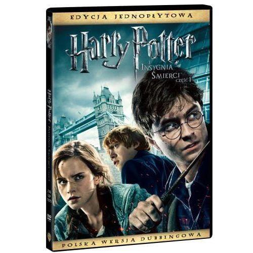 HARRY POTTER I INSYGNIA SMIERCI, CZESC 1 (1 DVD)