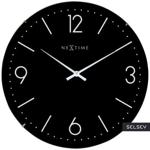 Nextime Selsey zegar basic dome średnica 35 cm