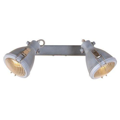 Candellux Crodo 92-71118 plafon lampa sufitowa 2x40W E14 szary (5906714871118)