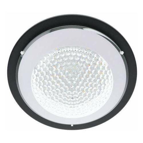 Eglo acolla 1 99357 kinkiet/plafon lampa ścienna/sufitowa 1x16w led czarny/biały (9002759993573)