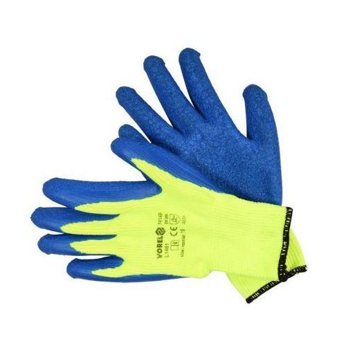 Vorel Rękawice robocze 74149 niebieski (rozmiar 10) (5906083029202)