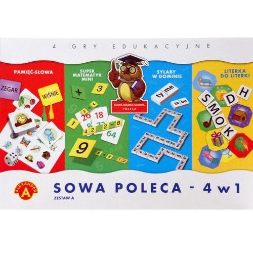 Sowa Mądra Głowa poleca 4w1 zestaw A. ALEXANDER (5906018017144) (5906018017144)