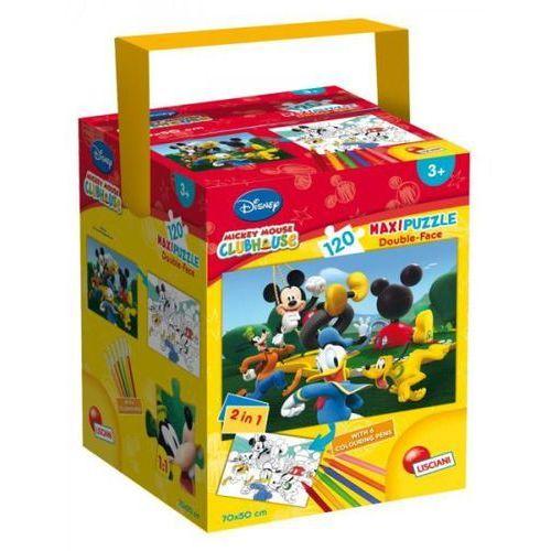 Puzzle w walizce Maxi dwustronne Klub Przyjaciół Myszki Miki 120