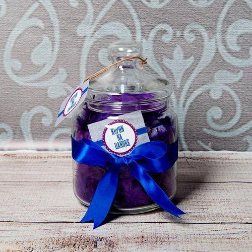 Słój życzeń: kupony randkowe - słój z 31 personalizowanymi karteczkami marki Mygiftdna