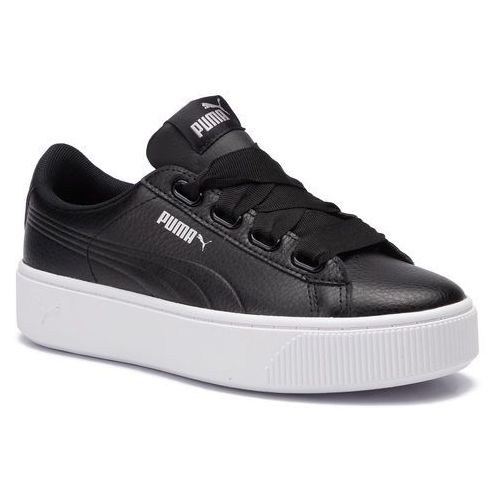 Sneakersy PUMA - Vikky Stacked Ribb Core 369112 01 Puma Black/Puma Black, kolor czarny