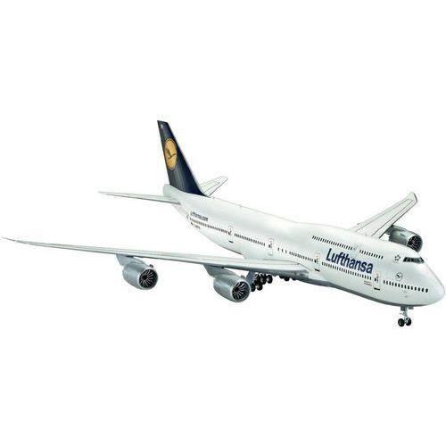 Revell Model samolotu do sklejania boeing 747-8 lufthansa 1:144.