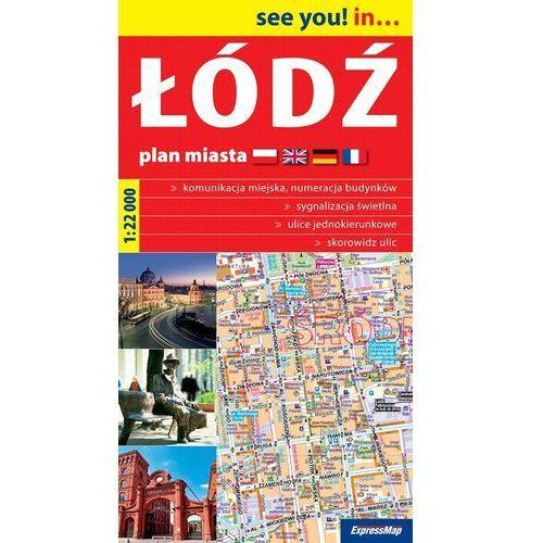 Łódź mapa 1:22 000 ExpressMap