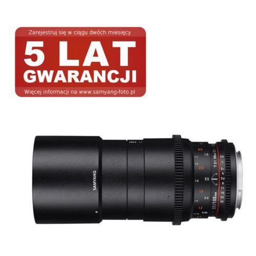 Samyang  100mm t3.1 vdslr ed umc macro canon (8809298884239)
