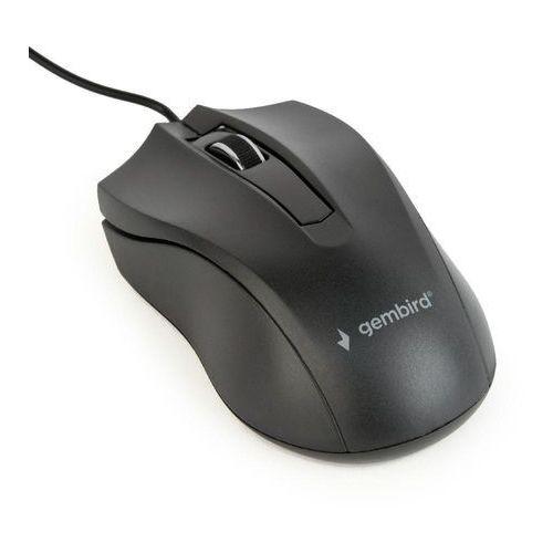 OKAZJA - Gembird Mysz optyczna mus-3b-01 kolor czarny- natychmiastowa wysyłka, ponad 4000 punktów odbioru!