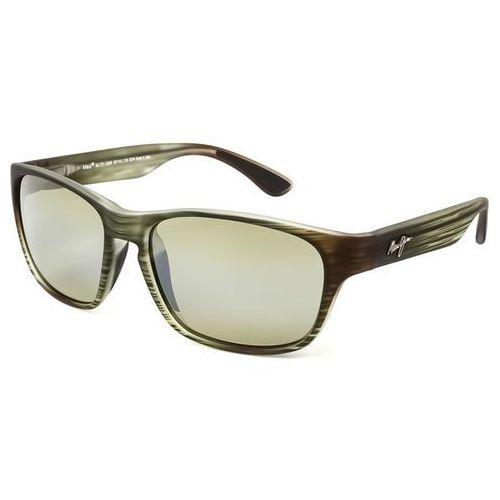 Maui jim Okulary słoneczne mixed plate polarized ht721-15mr