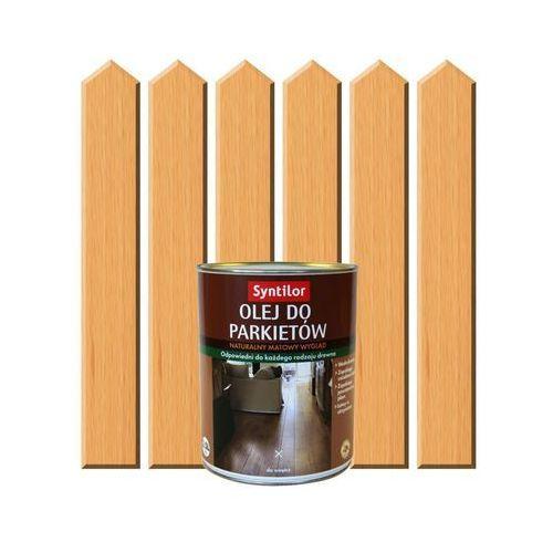 Olej do parkietów 2.5 l drewno naturalne marki Syntilor