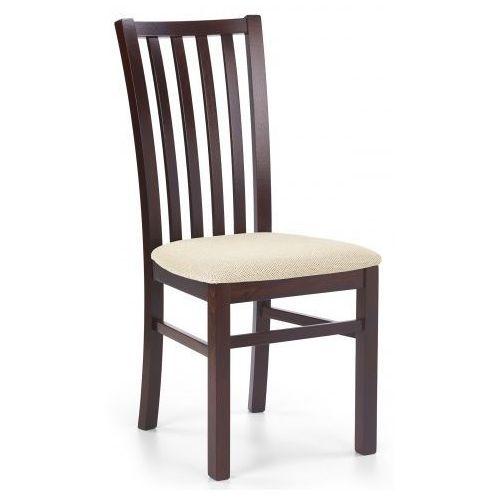 Elior.pl Drewniane krzesło billy - ciemny orzech