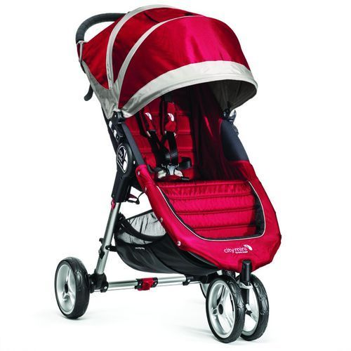 Wózek BABY JOGGER City Mini Single Crimson/Gray + DARMOWY TRANSPORT!