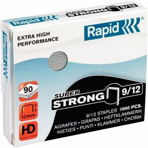 Zszywki RAPID SUPER STRONG 9/12 1000 szt. - X08294, NB-4191